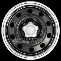 06-11 Ford Crown Victoria 17 Wheel Trim Rings & Center Hub Caps Beauty Rim Hubs