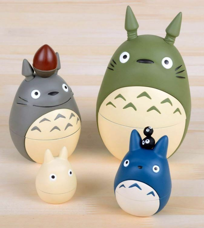 Ensky Studio Ghibli My Neighbor Totoro Matryoshka Doll Japan Nesting Toy Import