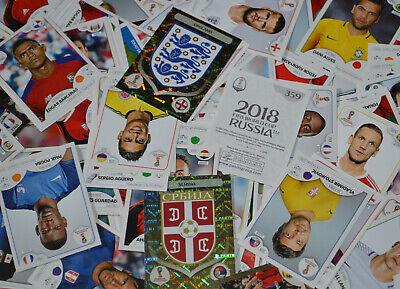 Russland Sticker 47 Alan Dzagoev Panini WM 2018 World Cup Russia