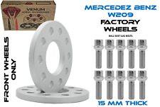 Mercedes Benz Wheel Lug Bolt 1.5 x 12 mm 1.5x12x48 Long Bolts for alloy 97mm