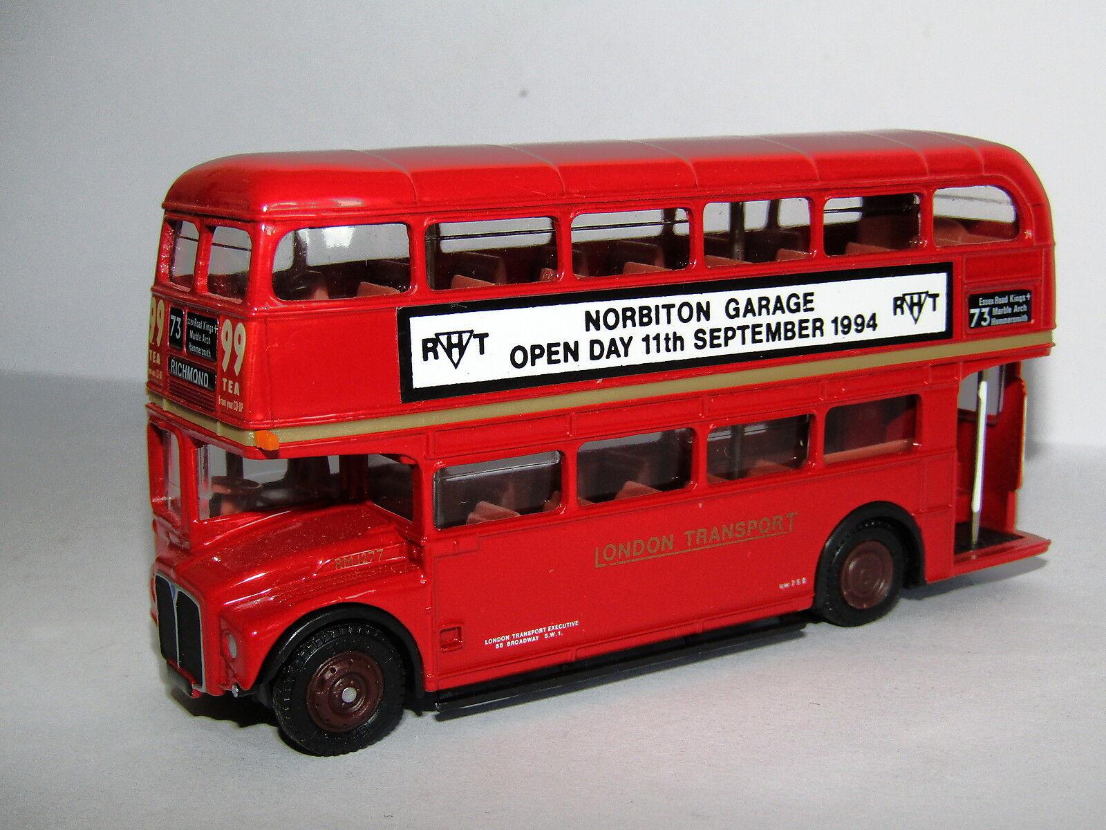 EFE AEC ROUTEMASTER BUS LONDON TRANSPORT NORBITON 1994 1 76 15605BA LBRT CODE 3