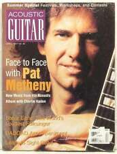 ACOUSTIC GUITAR MAGAZINE PAT METHENY CHARLIE HADEN STEVE EARLE VERY RARE 19