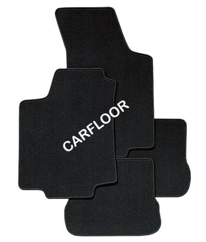 Für Chrysler Sebring Cabrio Bj 03.01-03.08  Fußmatten 4-teilig Velours schwarz