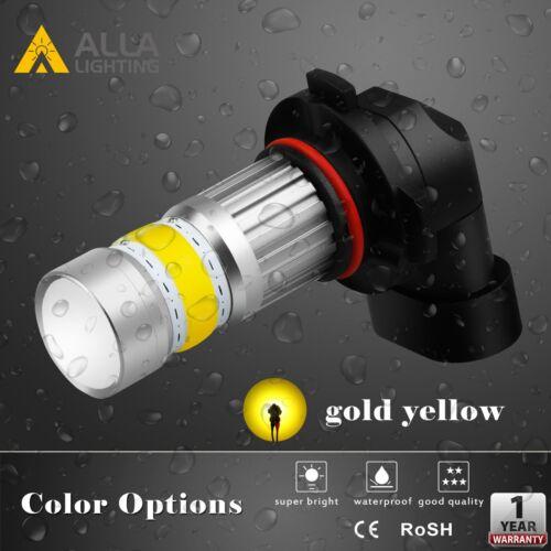 Alla 72-LED 9006 Golden Yellow Fog Light Bulb Driving Lamp High Visibility Rain