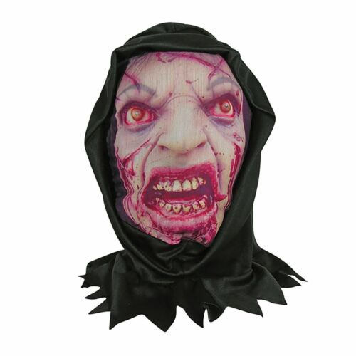Various Designs Halloween Themed Adult See Through Hooded Mask