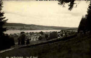 Malbuisson-Carte-Postale-CPA-1940-Echtfoto-AK-Real-Photo-Postcard-Postkarte