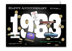 35th wedding anniversary card souvenir of 1983 2018 ebay