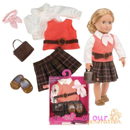 NUOVO pronta a prendere preppy vestito nostra generazione American Girl Bambola Accessorio