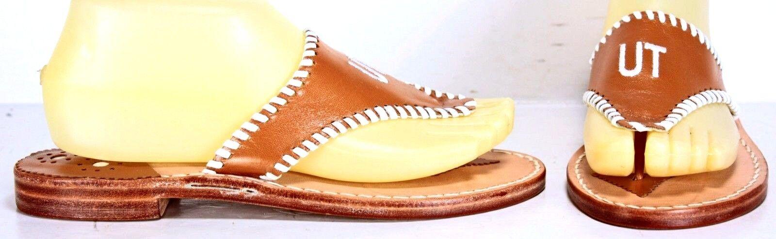Stephen Bonanno Womens Flip Flops sz 7 M Sandals University of Texas ML2