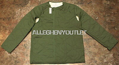 US Military USAF NOMEX Quilted Cold Weather Coat Jacket Liner SMALL NEW