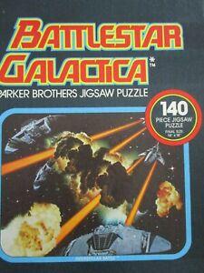 Vintage-1978-Parker-Bros-034-Battlestar-Galactica-034-140-piece-Jig-Saw-Puzzle-NIB