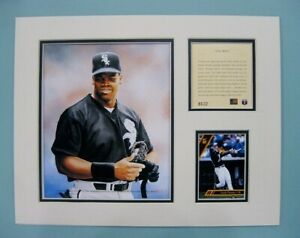 Chicago White Sox Frank Thomas MLB Baseball 11x14 MATTED Kelly Russell Print