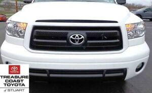 New Oem Toyota Tundra 09 13 Rock Warrior Grille Emblem White Paint Code 040 Ebay