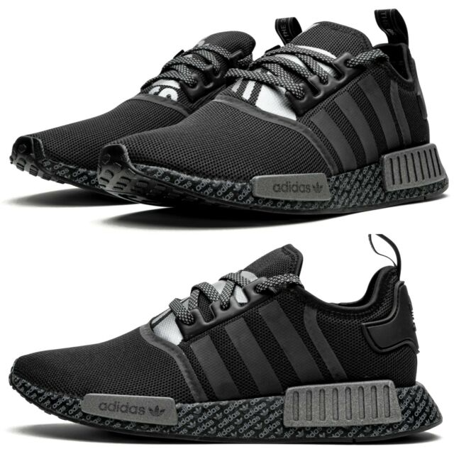 Adidas Nmd R2 Boost Black White Mens Shoes Art Cg3384 12 For