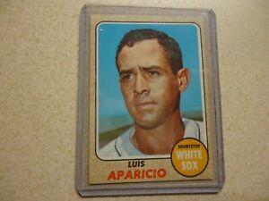 1968 TOPPS LUIS APARICIO CHICAGO WHITE SOX