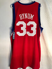 b7a35b757e7 Andrew Bynum Philadelphia 76ers adidas Swingman Mens Sewn Jersey ...