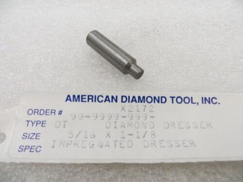 "New U.S.A 5//16/"" x 1-1//8/"" Impregnated Diamond Dresser Lot of 3 Pcs"