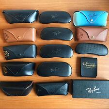 fodero occhiali bausch&lomb RAY BAN box custodia rayban eyewear folding b&l