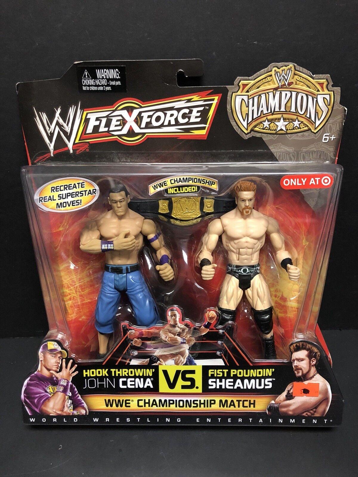 WWE Flexforce John Cena Vs. Sheamus Championship Match ATL0418