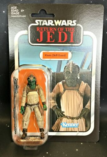 Comme neuf on Card Skiff Guard 2019 Star wars vintage collection VC135 Klaatu