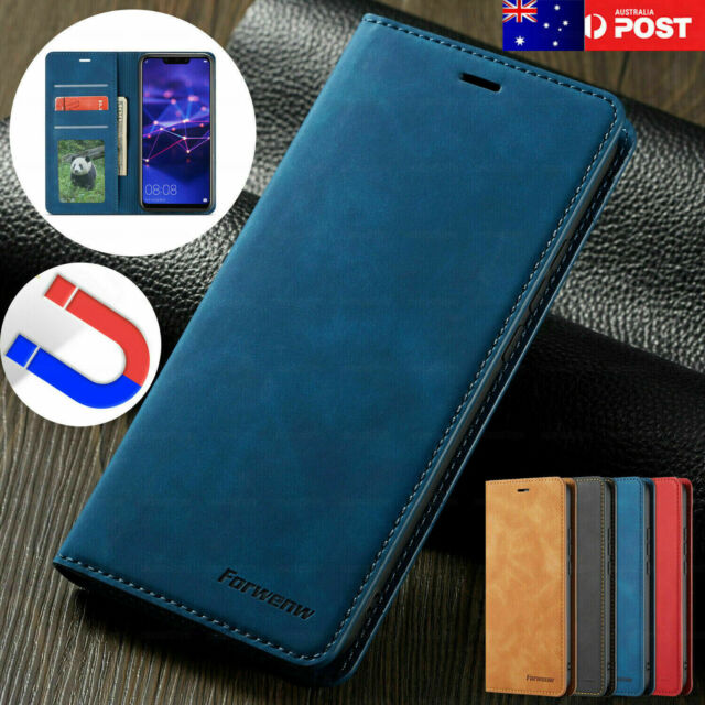 For iPhone 8 7 6s Plus X XR XS Max Case Magnetic Flip Leather Wallet Cards Cover