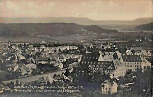 Rottweil-un-N-Germania-Hohenluftkurort-U-Solbad-Lehrer-Seminar-1918-Foto