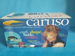 Vintage-1998-Caruso-Molecular-Steam-Hairsetting-System-Partial-10-Rollers-set