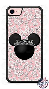 Cute-Minnie-Mouse-Tiara-Butterfly-Phone-Case-Cover-for-iPhone-Samsung-LG-etc