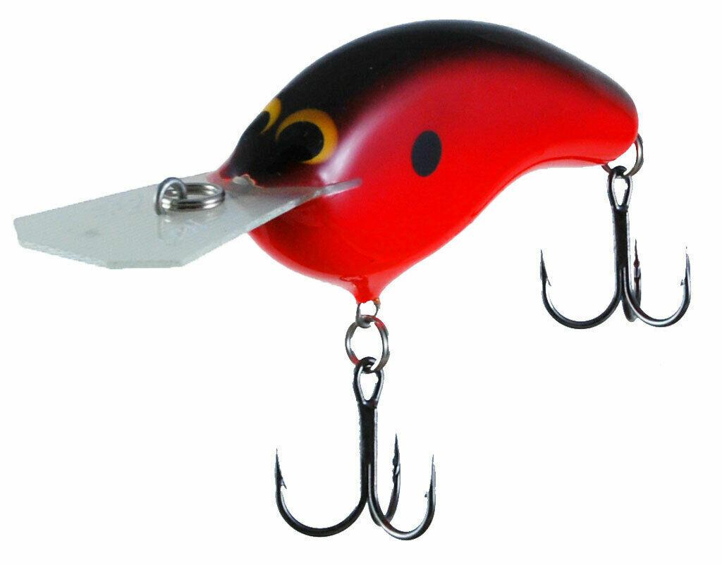 Zoom Bait azienda CME BARA BILL Peanut dei pesciolini artificiali rossoAT3101