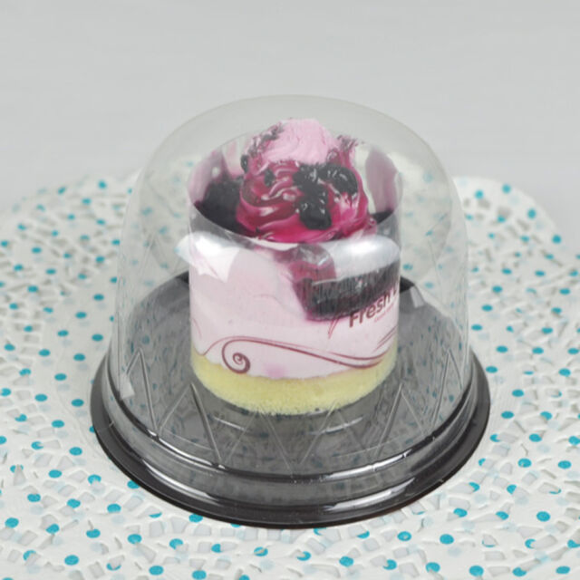 25/50/100pcs Clear Cupcake Cases Chesse Display Boxes For Christmas USA SELLER