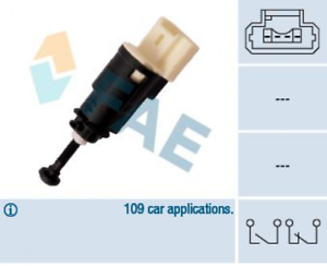 Contacteur de frein de signal Installation FAE 24903