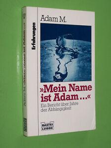 Mein-Name-ist-Adam-Erfahrungen-Adam-M-1992-Bastei-Luebbe-TB-33