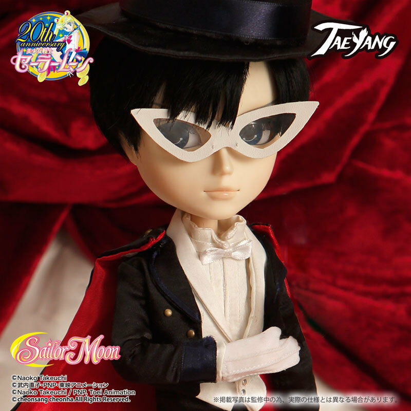 Taeyang Tuxedo Mask Pullip Sailor Moon Groove anime fashion doll in US
