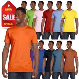 73ef38e9 Hanes Nano 4.5 oz Light Weight 100% Ringspun Cotton S-3XL T-Shirt M ...