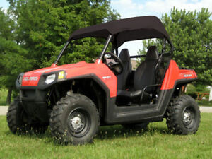 Polaris RZR ROOF- Canopy - Soft Top Material - Travels Highway Speed