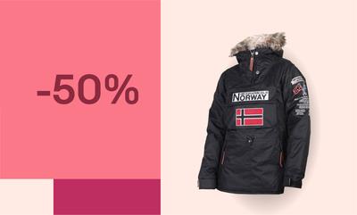Hasta -50% en Geographical Norway