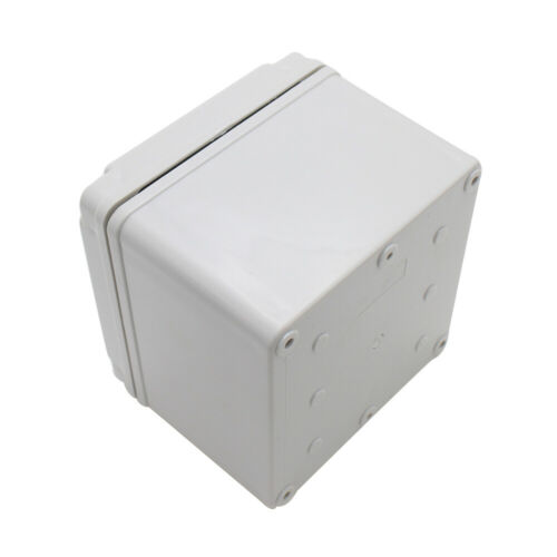 1 Plastic Junction Box Waterproof Electrical Box ABS Material Case 125x125x100mm