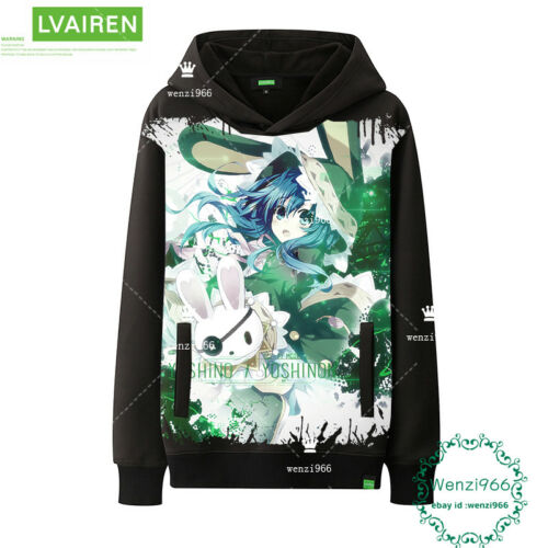 Warmth Unisex Pullover Anime DATE A LIVE Men/'s Sweater Sweatshirts Coat  #H59