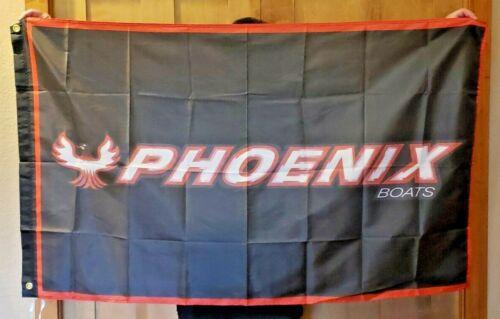 Phoeni BASS BOATS FLAG BANNER SIGN 3/' X 5/' PRO SHOPS REEL LIFE Pro Shop