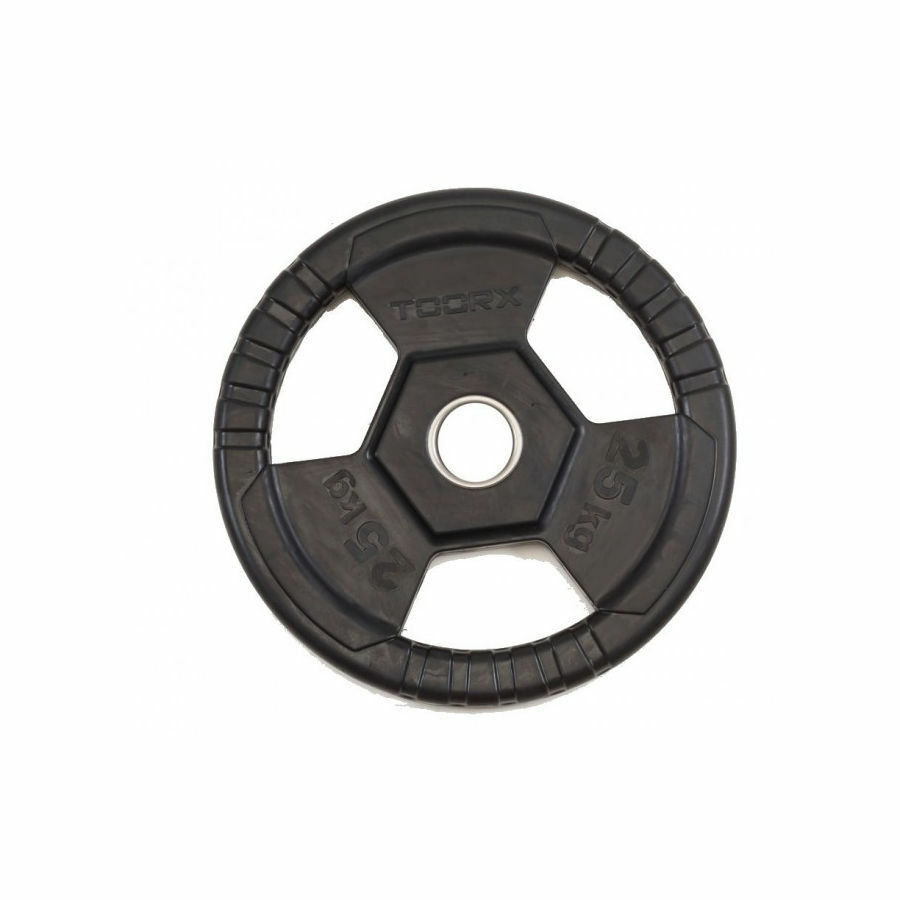 TOORX DGG TG25 Disco ghisa gommato 25 kg diam. 50mm