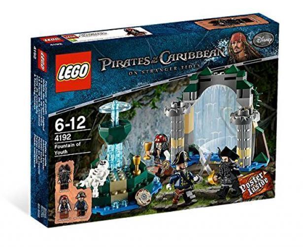 Scellé LEGO  Pirates of the voitureibbean 4192 fontaine de jouvence NEUF livraison gratuite  pas cher en ligne
