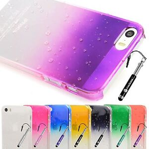 Slim-3d-Clear-Rain-Water-drop-Hard-Case-Cover-for-Apple-iPhone-5s-5
