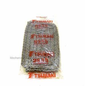 NEW BAG OF TSUBAKI  2W092  RS 35  ROLLER CHAIN 10 FT RIV TYPE 320 LINKS
