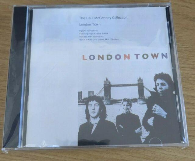 Paul McCartney Wings - London Town 1993 CD Bonus Tracks Collection MPL