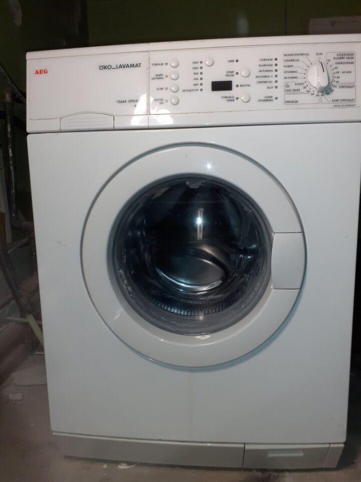 AEG vaskemaskine, Öko_lavamat 73664, frontbetjent