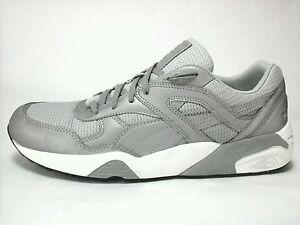 Puma R698 Men s Reflective Trinomic Running Walking Sneakers Shoes ... 44f3ff604