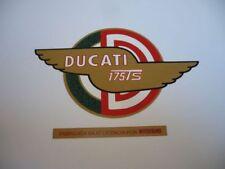 Adhesivo lateral deposito Ducati 175TS.