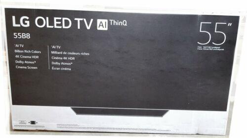"""Los Angeles  Delivery 2018 Model LG OLED55B8PUA 55/""""  OLED 4K HDR AI Smart TV"""