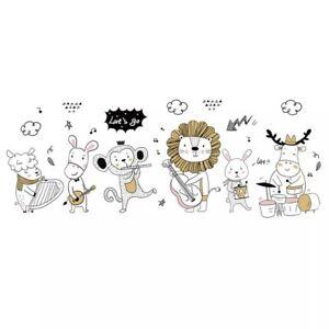 Animal-Music-DIY-Wall-Stickers-Nursery-Kids-Room-Removable-Mural-Decal-Decor