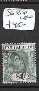 MALAYA STRAITS SETTLEMENTS (PP2305B) KE $1.00 SG 136 VFU